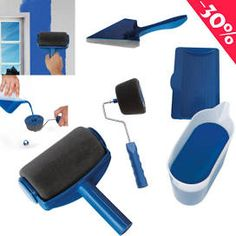 5 Pcs Pro Paint Roller Kit De Peinture Professionnel Avec Réservoir