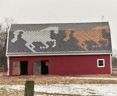 Horses   SHERRIFF GOSLIN COMPANY- ART-LOC SHINGLES