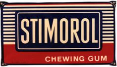 Stimorol, chewing gum - Vintage Posters - Galerie 123 - The place to find vintage art