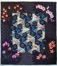 """Oriental Treasures"" by Renske Helmuth (Ontario, Canada). Honorable mention, 2010 Canadian National quilt show"