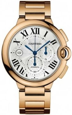 Ballon Bleu De Cartier 18kt Rose Gold Chronograph Montres De Luxe Mens Luxury Watch W6920010 click to buy with new price offer and deals