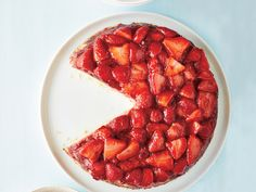 This perfectly light summer cake comes out beautifully, either way you flip it.
