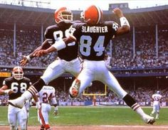Though only the first six seasons of his NFL career were spent with the Browns, Webster Slaughter managed to make a tremendous impact on the Browns and their fans during his time in Cleveland from Cleveland Team, Cleveland Browns History, Cleveland Browns Football, Cleveland Rocks, Go Browns, Browns Fans, Cleveland Browns Wallpaper, Browns Players, Football Conference
