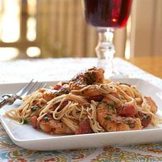 Shrimp Diablo is a recipe that puts out some heat. The fire in this saucy shrimp dish comes from crushed red pepper and chili paste with garlic.