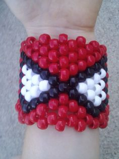 SpiderMan Kandi Cuff Rave PLUR Bracelet by GotKandi on Etsy, $4.50