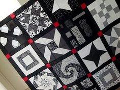 Red, Black, & White