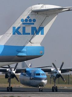 KLM Cityhopper Fokker 100 PH-KLG | AA Rated | Pinterest