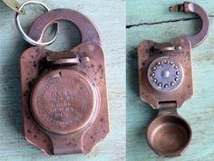 Unique vintage locks & keys (pics from  pics-site.com)