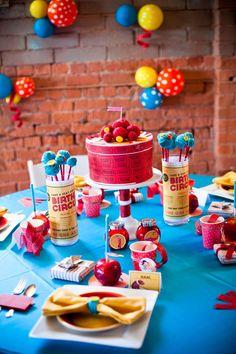 DIY vintage circus birthday party decor!