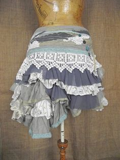 Pin mill skirt by NaturallyBohemian on Etsy, £86.00  I just want all of these <3