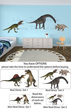 Dinosaur Wall Decals Dinosaur Stickers by NurseryDecalsAndMore, $24.99