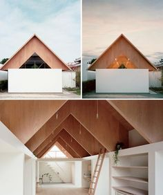 * Modern Japanese Home Extension 2 - Japanese Architecture Japanese Buildings, Modern Japanese Architecture, Wood Architecture, Architecture Extension, Japan Design, Plywood House, Traditional Japanese House, Japanese Modern, House Extensions