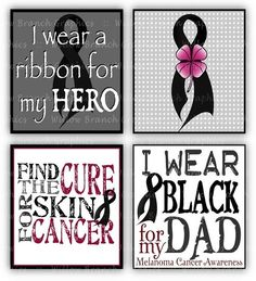 Melanoma Cancer Awareness  Digital Collage by WillowBranchGraphics, $3.00