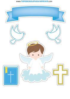 Christening Invitations Boy, Baptism Banner, Christening Cake Boy, Holy Communion Invitations, Baptism Party, Baby Shower Invitations, Shower Favors, Party Favors, Boy Baptism Centerpieces