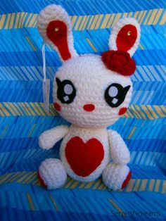 Bunny Amigurumi Crochet Pattern by SecretsNdreams on Etsy