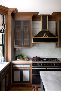 Historic-house whisperer Nina Farmer conjures an inspired mix of colors, materials, and artful pieces in this young family's Massachusetts home Kitchen Decor, Kitchen Design, Kitchen Ideas, Kitchen Inspiration, Interior Inspiration, Home Interior, Interior Design, Craftsman Interior, Craftsman Homes