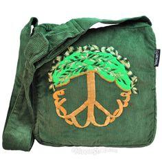Tree of Life Corduroy Shoulder Bag on Sale for $24.95 at HippieShop.com