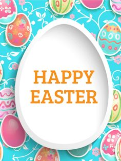 Send Free Brilliant Happy Easter Card to Loved Ones on Birthday & Greeting Cards by Davia. It's free, and you also can use your own customized birthday calendar and birthday reminders. Happy Easter Wishes, Happy Easter Greetings, Birthday Reminder, Friend Birthday, Easter Art, Easter Eggs, Easter Decor, Birthday Greeting Cards, Birthday Greetings