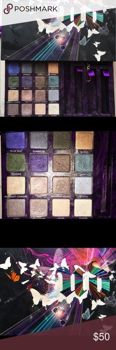 Urban Decay book of shadows Volume IV Beautiful urban decay shadows including the famous Sin! Used maybe twice so in outstanding condition. Urban Decay Makeup Eyeshadow