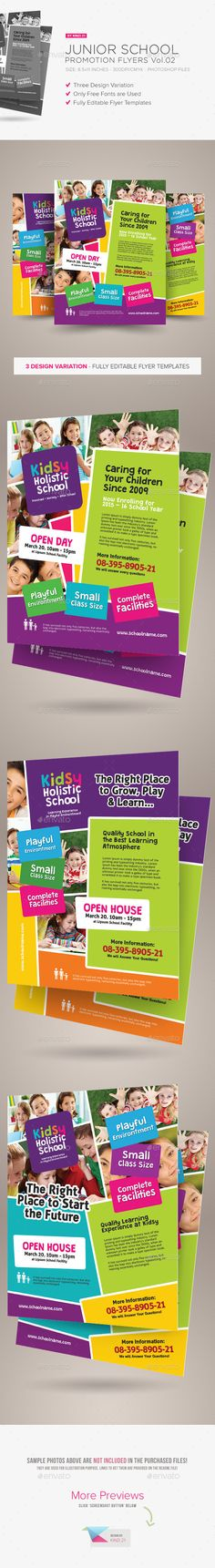 Junior School Promotion Flyers Vol.02 - Corporate Flyers