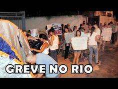 Começa no Rio! Familiares de PMs ocupam entrada de Batalhão