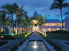 Discover a selection of the most prestigious 6 star and the best luxury hotels in Mauritius. Great Location, stunning photos, travel differently with Mauritius Travel Guide. Mauritius Hotels, Mauritius Travel, Mauritius Island, Dubai Travel, Luxury Beach Resorts, Beach Hotels, Hotels And Resorts, Oh The Places You'll Go, Islands
