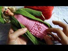 Ensinando a Fazer casaco model elgancy para barbie - YouTube
