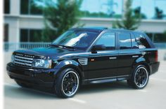 My current dream car I would like to own someday is a Range Rover all blacked out. So sporty yet spacious enough to haul a family around in!