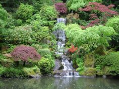Ewa in the Garden: TOP 10 most beautiful pictures of Japanese Garden Japanese Garden Plants, Portland Japanese Garden, Japanese Gardens, Large Pond Liners, Koi Pond Liner, Koi Pond Kits, Koi Pond Supplies, Koi Pond Design, Pond Construction