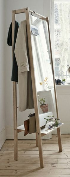 The Skagerak Push Coat Stand is a stunning storage unit which can be used to store a whole manner of items, it can also be used to hang clothing.