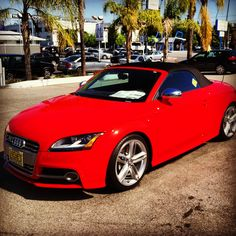 Red Baron Audi TT-S. As you can tell from the many pictures I take of this Audi, I like it quite a bit. www.KeyesAudi.com