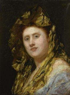 Mary Cassatt (American,1844-1926) ~ Ida (1874) ~ Oil on canvas ~ Private Collection