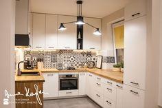 Strefa dzienna, mieszkanie - Kuchnia, styl skandynawski - zdjęcie od Anna KarJan Pracownia architektury wnętrz