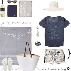 Beach essentials | www.eb-vloed.nl