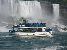 """Maid of the Mist…loved my trip by the falls…so """"misty""""….ha…we are soaked..."""