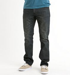 """Bullhead Jeans at Pac-Sun. Usually """"skinny"""" style, definitely not boot cut... various washes, 30X32 (these are the jeans I usually get and like their durability and fit)"""