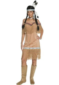 Indian Lady Costume - Authentic Western - Cowboys & Indians at Escapade UK - Escapade Fancy Dress on Twitter: @Escapade_UK