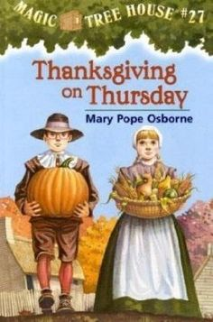 Historical Fiction. Jack and Annie wanted to go on another trip so they got in their tree house and went back the when they pilgrims and indians started Thanksgiving.