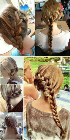 Chic Side Braided Style
