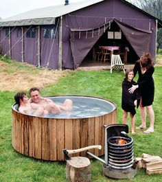 🎁 Get 50 Woodworking Plans & a Guide Book Absolutely FREE! by Best Ideas For Wood Worker Jacuzzi Outdoor, Outdoor Baths, Outdoor Bathrooms, Piscine Diy, Outdoor Wood Projects, Stock Tank Pool, Pool Designs, Woodworking Plans, Outdoor Living