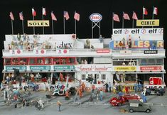 diorama fomula one   Dioramas de Formule 1 - Dioramas et photoramas au 1/87