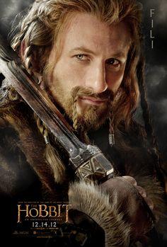 The Hobbit: An Unexpected Journey | Fili (Dean O'Gorman) #thehobbit #fili #dwarf