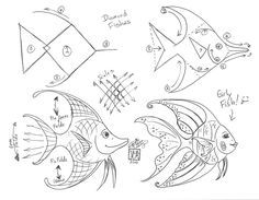 Draw a Simple Fish by *Diana-Huang on deviantART