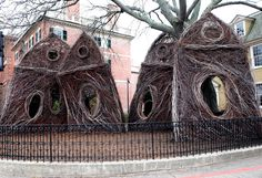 Patrick Dougherty's Stickworks Augments the Experience of Fall in ...