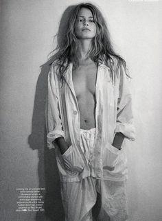 Claudia Schiffer by Steven Meisel