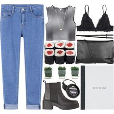 note to self by evangeline-lily on Polyvore featuring Monki, Arlington Milne and Jules Smith