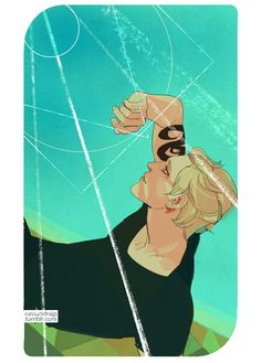 Jace and the Angel ... Drawn by Cassandra Jean ... jace herondale, the mortal instruments