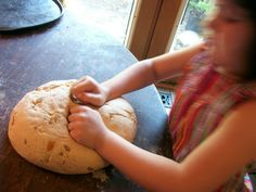 cypress space: Michaelmas baking....Dragon Bread! With a beautiful story to go along.