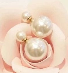 06ba201ae Korean Fashion Wild Temperament Unique Exaggerated Big Shiny Delicate Pearl  Earrings The Size Of Imitation Jewelry Free Shipping