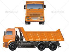 Dump Truck by Mechanik AvailableCDR , AI andEPSvector formats separated by groups and layers for easy edit Also you can check at my Collections:Vector C